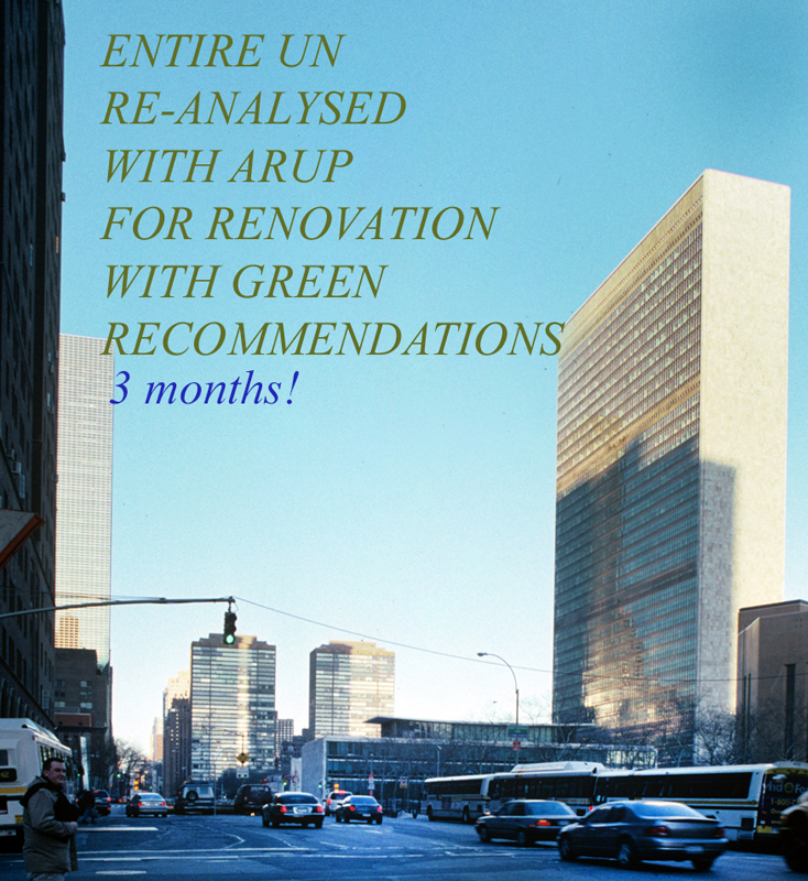 United Nations offices in NYC with Green Recommendations from Talo Architect