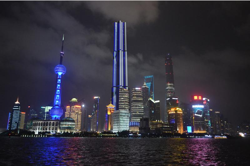 high rise in Shanghai