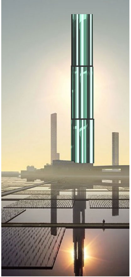 tall building design for Tokyo