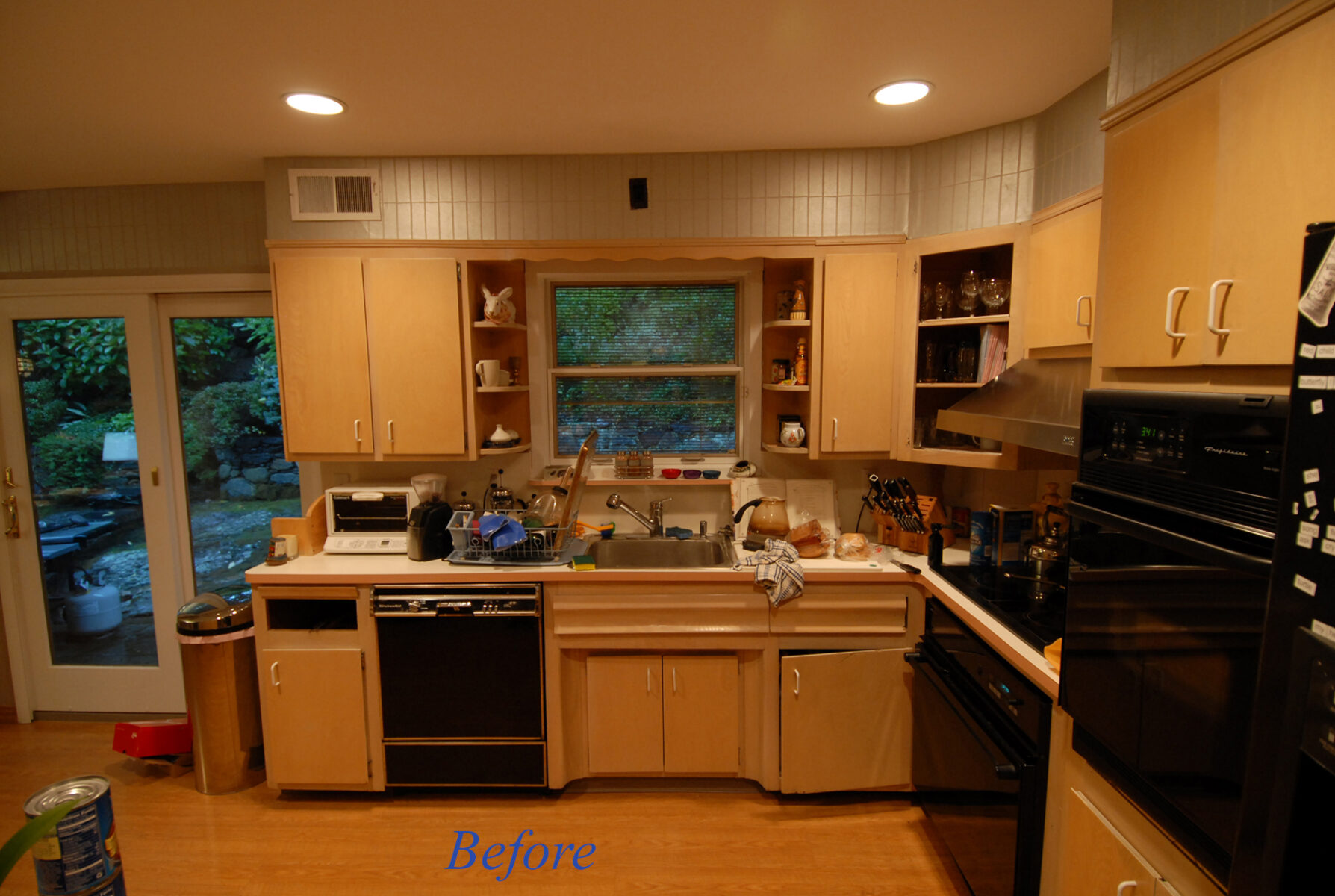 Developers kitchen before-a