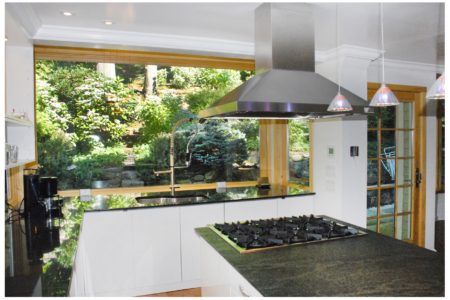 __Kitchen with Calfornia Feel in Scarsdale