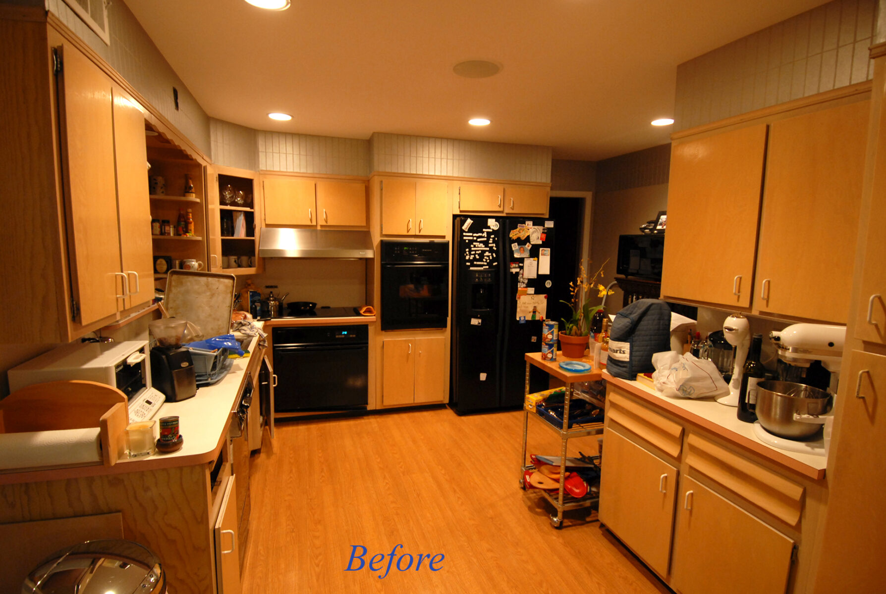 developers kitchen -before Scarsdale